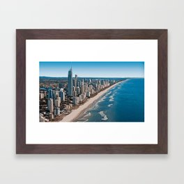 Gold Coast - Australia Framed Art Print