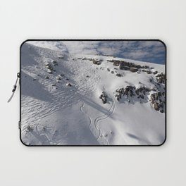 Ski Slopes Laptop Sleeve