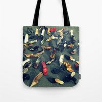 sale Tote Bags featuring Sale by Irène Sneddon
