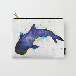 Whale shark, watercolour Carry-All Pouch