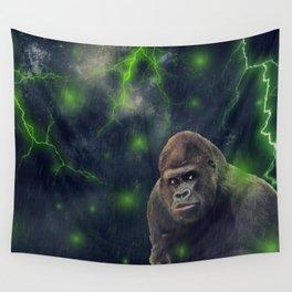ThunderStorm Gorilla by GEN Z Wall Tapestry