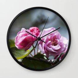 Springtime Pink Wall Clock