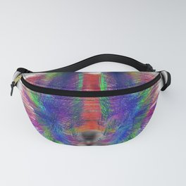 Axial Fibers Clear Fanny Pack