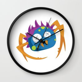 The Crazy Spider Wall Clock