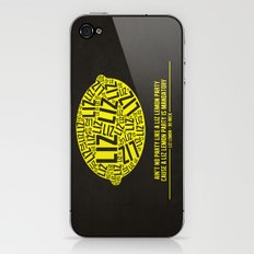 30 rock - liz lemon iPhone & iPod Skin