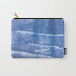 Steel blue clouded wash drawing paper Carry-All Pouch