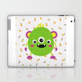 A litle green montr Laptop & iPad Skin