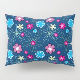 Multifloral Pattern Pillow Sham