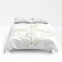 Binding Rune - Joy of Fortunes in Gold Comforters