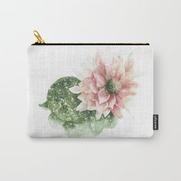Stars and Stripes cactus Carry-All Pouch
