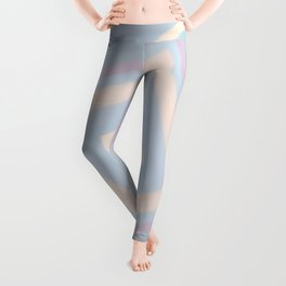 rotated square caro in pastel colors Leggings