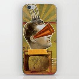 Plugged In iPhone Skin