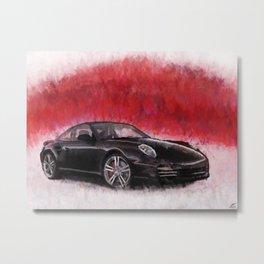 Porsche 911 Turbo Metal Print