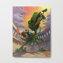 Conker Metal Print