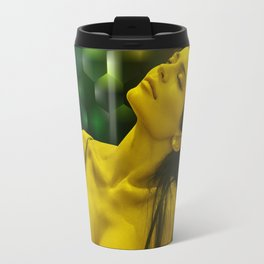 Kylie Jenner - Celebrity - Dreaming Pose (Photographic Art) Travel Mug