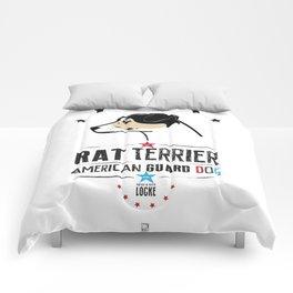 Rat Terrier: American Guard Dog Comforters