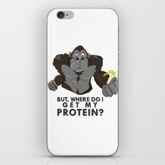The Protein Question iPhone & iPod Skin