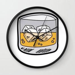SOUP OF THE DAY Whiskey Liquor Bourbon Booze Wall Clock