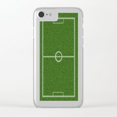 Football field Clear iPhone Case