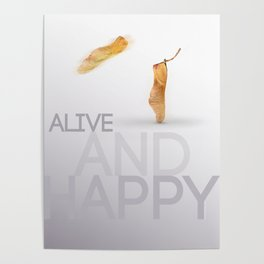 Alive and hapy Poster
