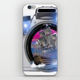 Recuerdos del Pasado barco iPhone Skin