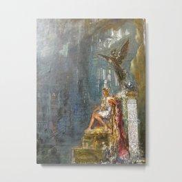 """Gustave Moreau """"Le Triomphe d'Alexandre le Grand"""" Metal Print"""