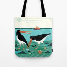 The Oystercatchers Tote Bag