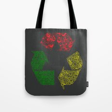 Peace, Love and Happiness Tote Bag