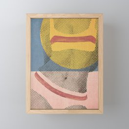 Gerald Laing's Girls 2 Framed Mini Art Print