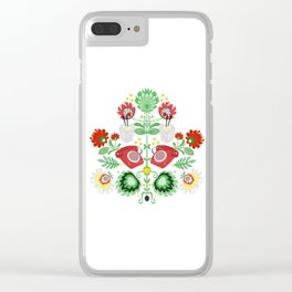 Take out call Clear iPhone Case