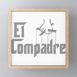 El Compadre Framed Mini Art Print