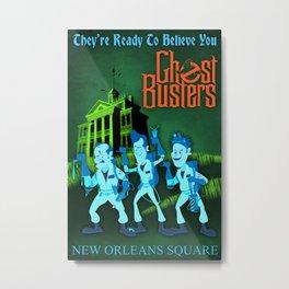 Hitchhiking Ghostbusters Metal Print