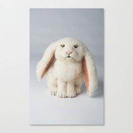 Fuzzy Bunny Canvas Print
