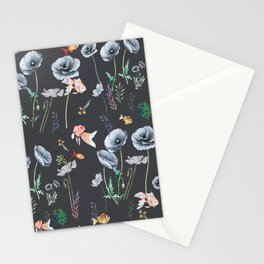 Fishes & Garden Stationery Cards