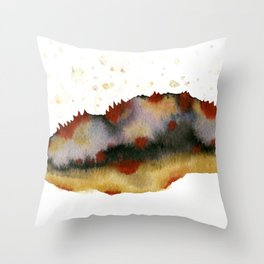 Poppy hills Throw Pillow