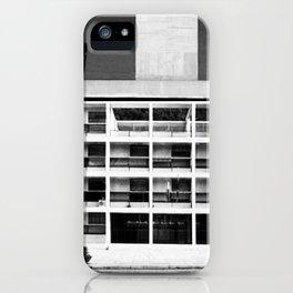 Architecture of Impossible_Como Le Corbusier iPhone Case