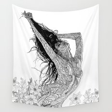 mystic transcendence Wall Tapestry
