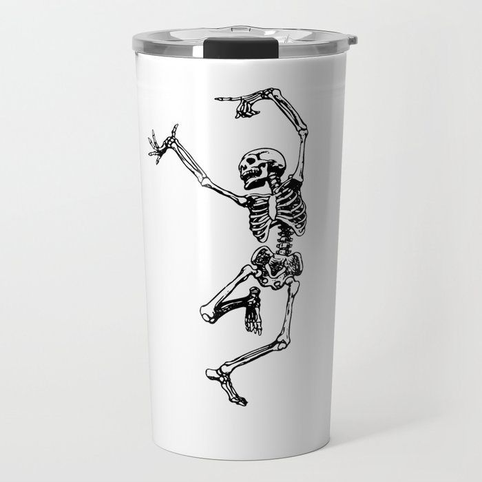 DANCING SKULL Travel Mug