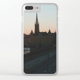 Summer in Stockholm Clear iPhone Case