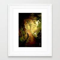 fairytale Framed Art Prints featuring Fairytale by Nev3r