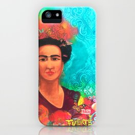 Frida Fragil y fuerte iPhone Case