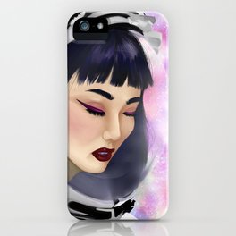 Space Gal iPhone Case