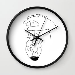 How can you mend a broken heart Wall Clock