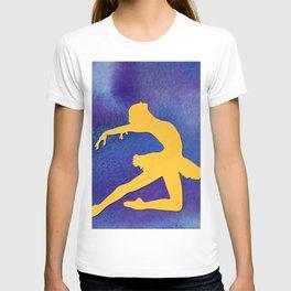 AP122 Watercolor dancer T-shirt