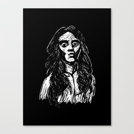 Stern Canvas Print