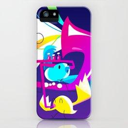 Birds a chripin' iPhone Case