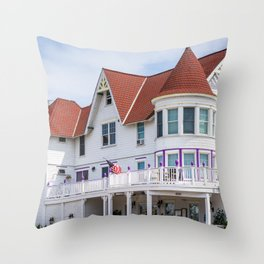 Bay Avenue, Somers Point Throw Pillow