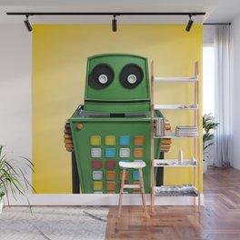 Tyler the robot. Wall Mural
