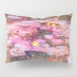 Water Lilies monet 1917 enhanced Pillow Sham