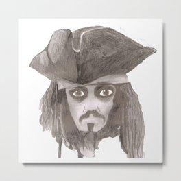 Captain Jack Sparro Metal Print